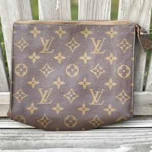 Louis Vuitton monogram toiletry/cosmetic bag
